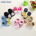 Детские Мальчики Девочки Животных Противоскользящие Антипробуксовочная Носки Малышей Младенческой Новорожденных Хлопок Вечерняя Манжеты Лодыжки Носок для 0-12 месяцев