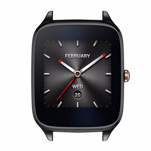 22mm Asus ZenWatch 2 Men\'s Black