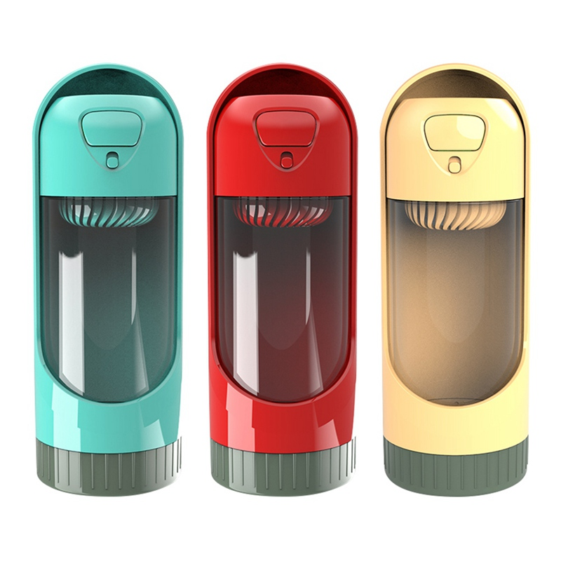 300ml Portable Pet Dog Water Bottle Travel Dog Bowl Cups: 300 Ml Portable Water Bottle Water Dispenser For Dog For