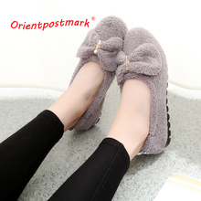 Women Adult Coral Velvet Home Indoor Shoes Soft Bottom Soft Surface Indoor Slippers Best Price 3 Colors цена 2017