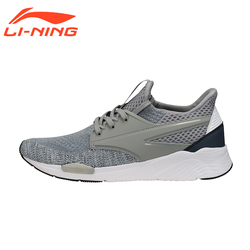 Li-Ning Men's Original Walking Shoes Exceed Classic Lightweight Breathable Walking Shoes Sports Sneakers LiNing AGCM033