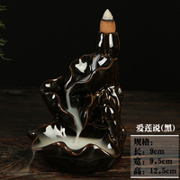 Back Office Home Furnishing Tea Censer Ceramic Burner Ornaments Buddhist Supplies Wholesale