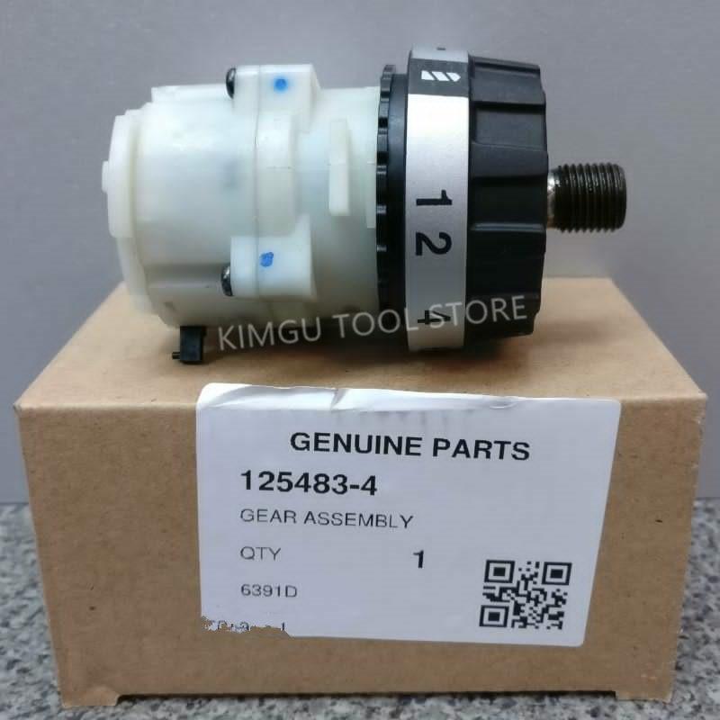 Reducer Gearbox Gear Assembly for MAKITA DDF453 DDF45RFE BDF443 BDF453 6391D DF457D 1254834 125483 4 DF457DWE