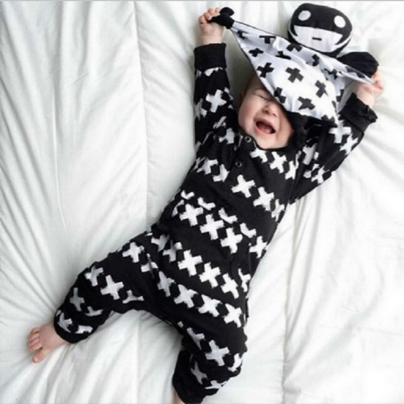 2017 Winter Christmas New Born Baby Boy Costumes Infant Baby Boys Girl Long Sleeve Cotton Romper Baby Overalls Jumpsuit Clothing baby clothing summer infant newborn baby romper short sleeve girl boys jumpsuit new born baby clothes