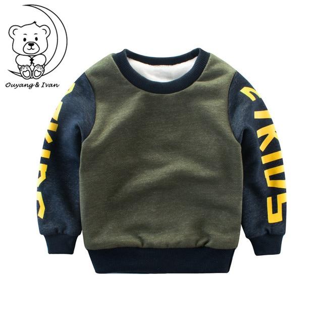 545811a78 Winter Sweatshirt Children s clothing thick sweater boys long sleeve ...