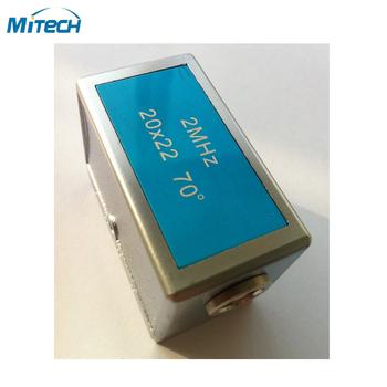 2 MHz 20*22 kąt wiązki sonda przetwornika tanie i dobre opinie 2MHz 20*22 MiTeCH Angle Beam Probe Transduce