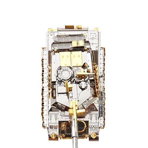Piececool M1A2 SEP სატანკო 3D ლაზერული - ფაზლები - ფოტო 3