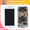 LL TRADER White LCD Touch Replacement For Samsung Galaxy S4 mini i9195 i9190 Screen Display Digitizer Assembly with Frame +Tools