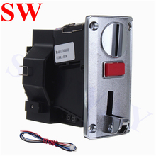 DG600F Multi Coin Acceptor for 6 different coins Vending Machine CPU Coin Selector For Washing Machine arcade game machine