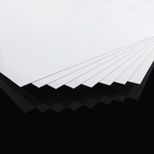 Image 3 - ABS0905 8Pcs 0.5มม.ความหนา200มม.X 250มม.ABS Styreneแผ่นสีขาวใหม่สถาปัตยกรรม