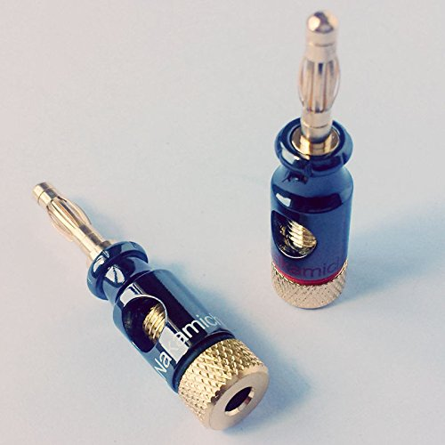 12pieces Nakamichi Banana Plug Wire Cable Connectors Awg 2 Gauge In Plug Connectors From Consumer Electronics On Aliexpress Com Alibaba Group