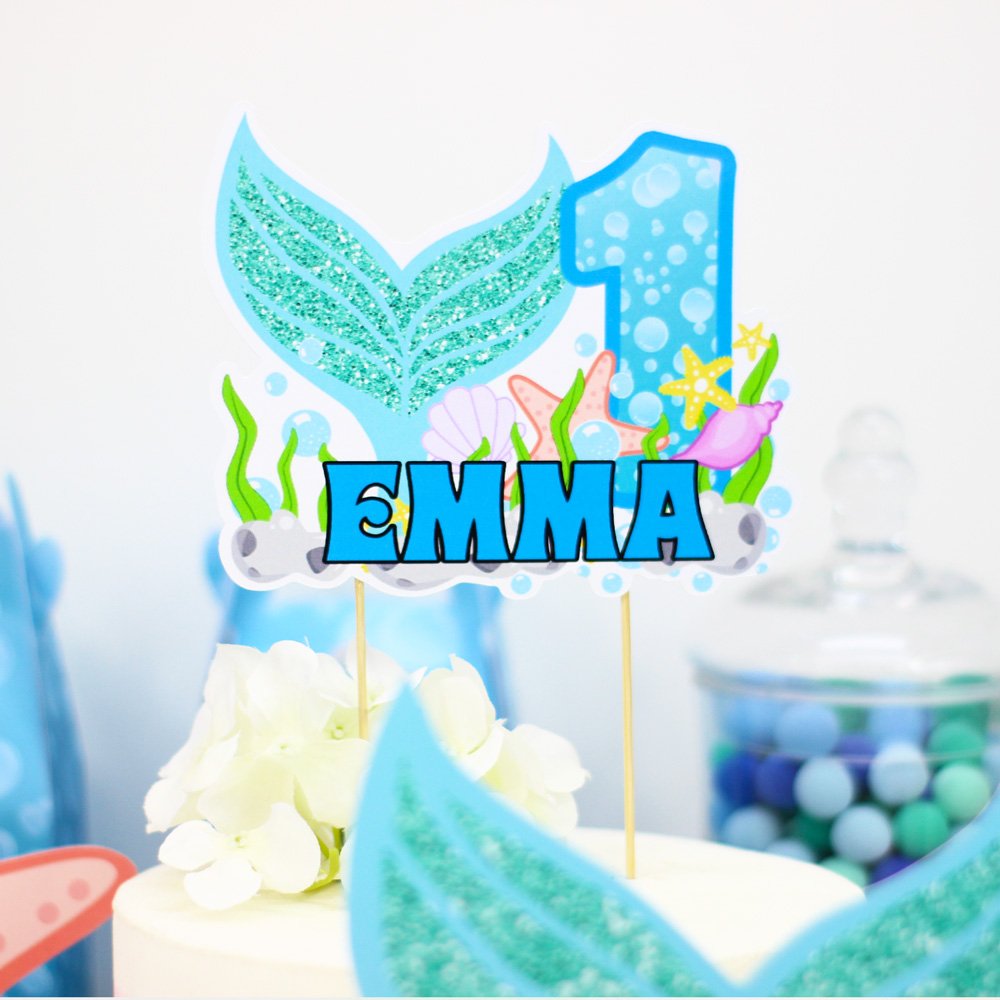 Under The Sea Party Decoration Mermaid Party Table Centerpiece Kids Birthday Party Supplies Decoration Party Favors Centerpieces in Party DIY Decorations from Home Garden