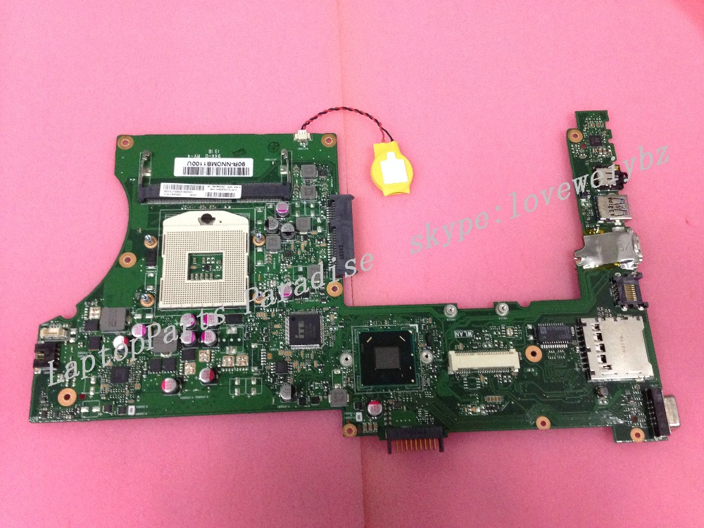 ФОТО Free shipping for Asus X401A rev 2.0 laptop motherboard ( Fit For Pentium cpu only )