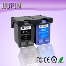 JIUPIN 21 22 Refill Ink Cartridge Replacement for HP/hp21 for HP/hp 21 xl for Deskjet F2180 F2200 F2280 F4180 F300 F380 380 D230