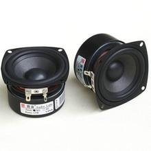 FACULDADE 2 pc HIFI DIY MINI 5 3 polegada 2.0 orador gama completa de ALTA FIDELIDADE de áudio-15 w 4/ 8 ohm