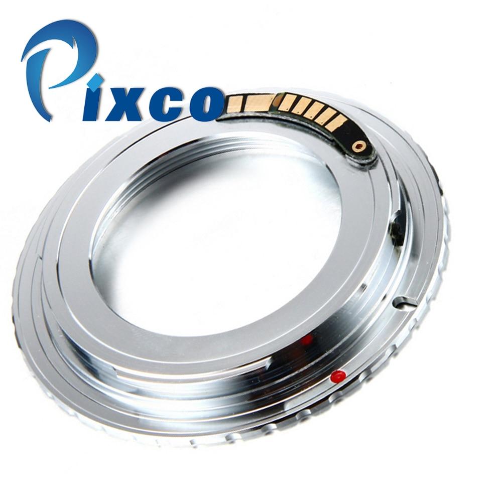 Pixco emf af bestätigen nicht autofokus-objektiv adapter ring anzug für m42 schraubenmontage/canon kamera 7d mark ii 5 diii 650d 60d