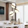 Итальянский дизайн  современные роскошные люстры  арт-деко  акриловый светильник в форме полумесяца  луна  подвесные светильники  светильни...
