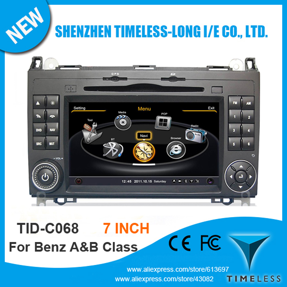 Car DVD Player Mercedes Benz W245 2005-2011 GPS A8 Chipset 3 Zone POP 3G/Wifi BT Radio 20 Dics Playing USB/SD Free Map - Shenzhen Timeless-long NO.2 Store store