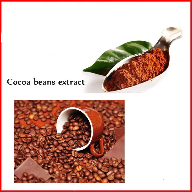 все цены на natural herb extract cocoa bean Extract Powder with free shipping