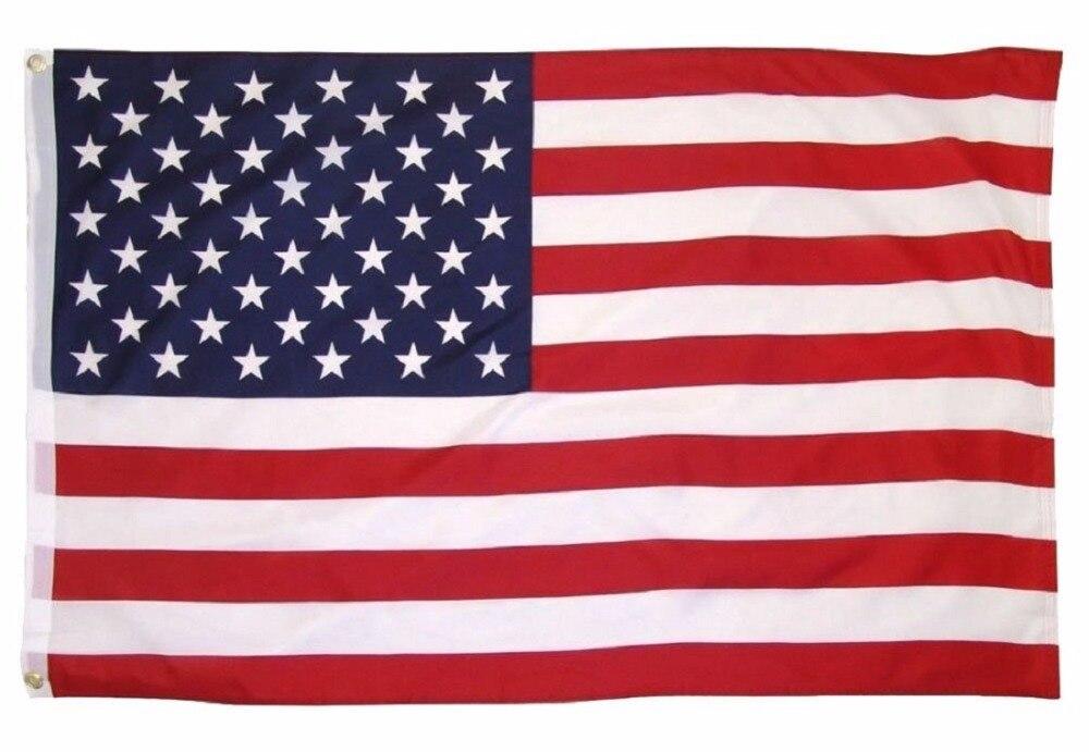 2017 Free shipping Custom Flag 3×5 FT 150X90CM Banner 100D Polyester metal Grommet