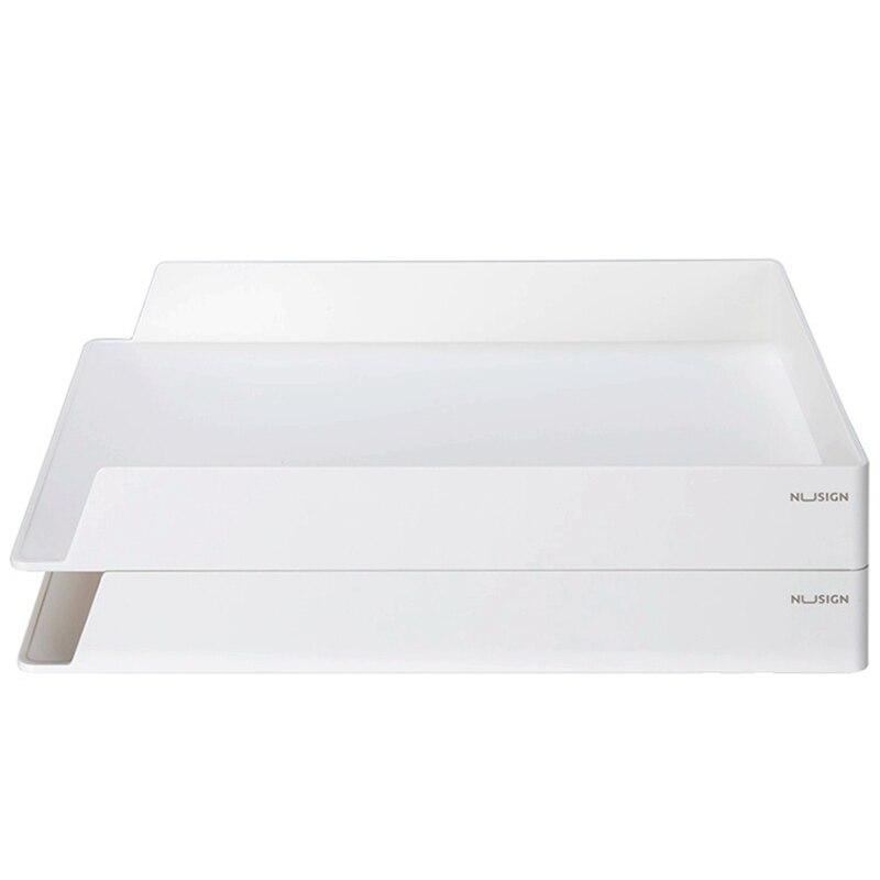 Deli NS021 ensemble organisateur de bureau classeur boîte à documents multi-étages bureau papeterie collection ensemble