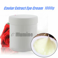 Roe Essence Caviar Extract Eyes Cream Anti Wrinkle Repair Fine Lines Anti aging Moisturizing Dilute Black Eye Remove Pouch 1000g
