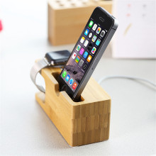 Natural Bamboo Charging Dock Station