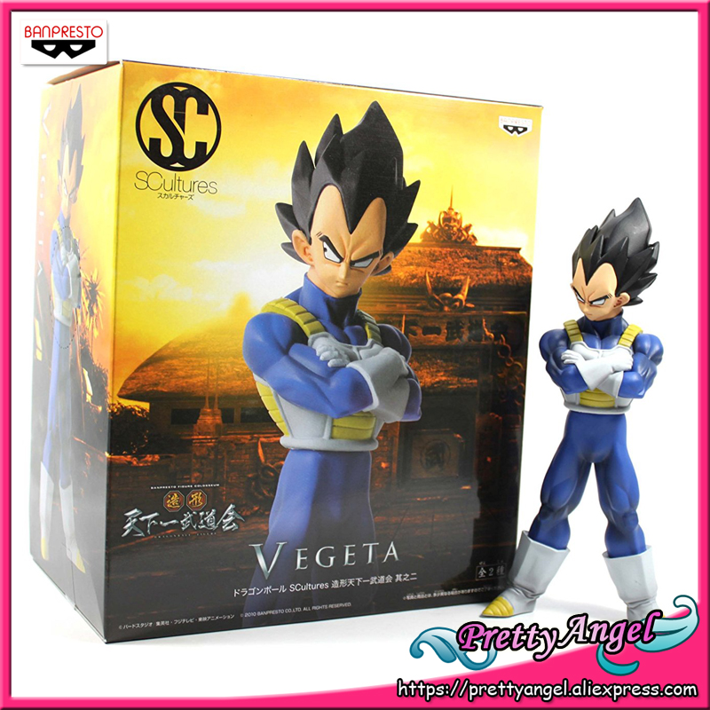PrettyAngel - Genuine Banpresto SCultures Dragonball Dragon Ball Z/Kai Vegeta Toys Action FigurePrettyAngel - Genuine Banpresto SCultures Dragonball Dragon Ball Z/Kai Vegeta Toys Action Figure