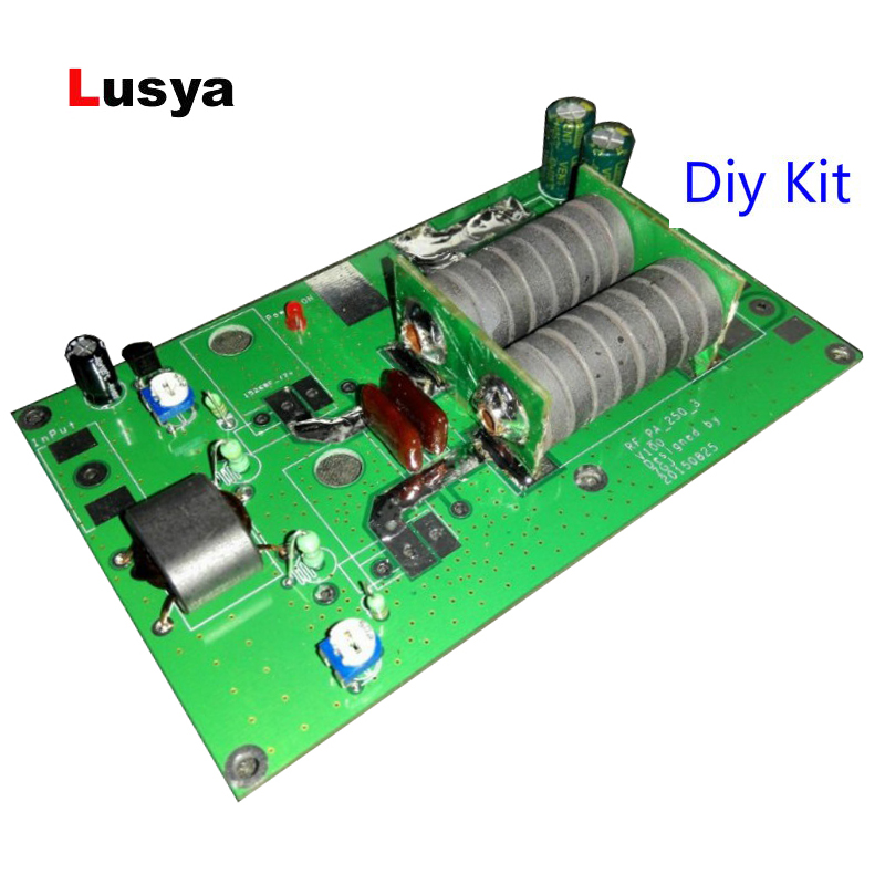 180W Linear Power Amplifier board For Transceiver Intercom Radio HF FM Ham DIY kits F2 003