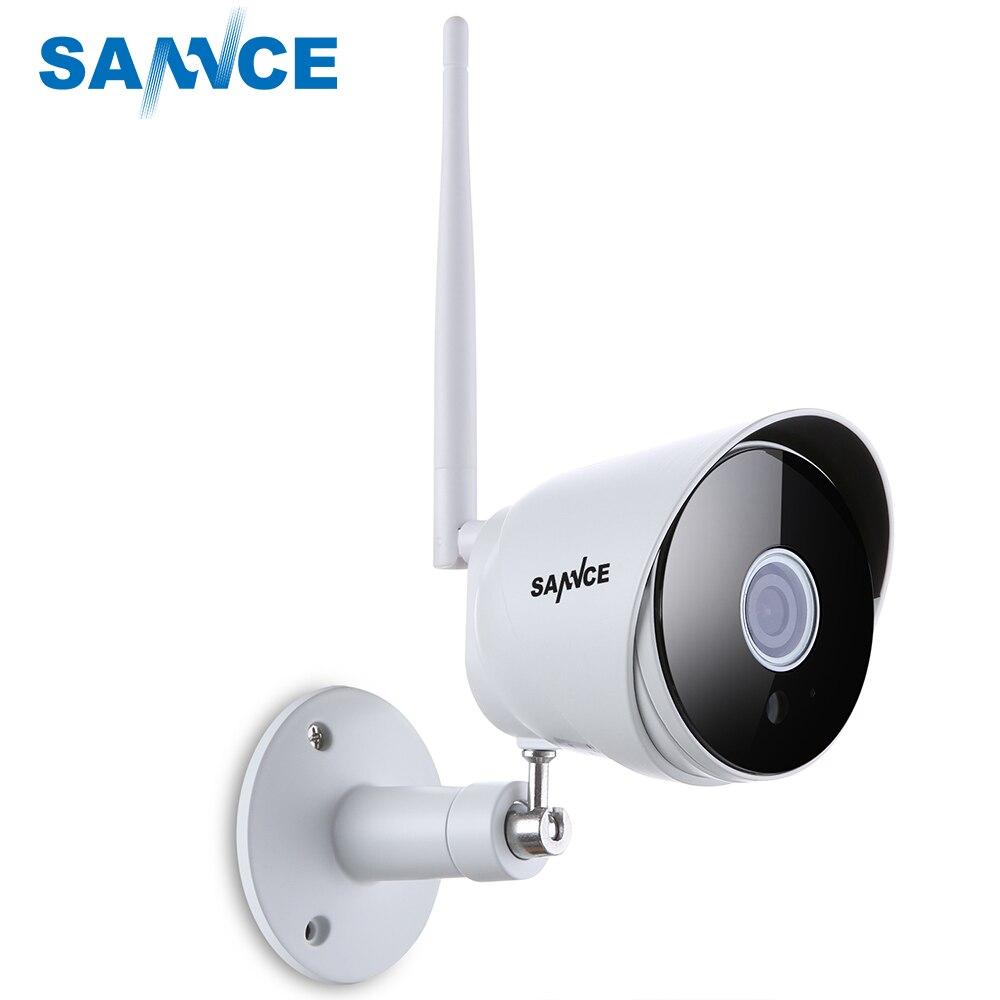 SANNCE 1080 P IP Caméra Wi-fi Bullet CCTV Caméra 2.0MP IP66 Extérieurs pour la maison WIFI Caméra de Sécurité