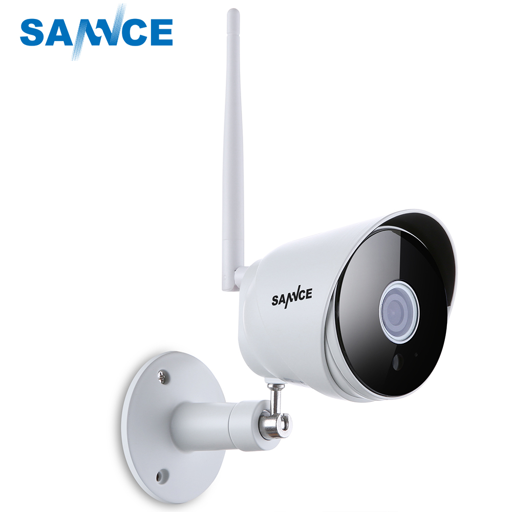 SANNCE 1080 P ip-камера Wi-Fi пуля камеры видеонаблюдения 2.0MP IP66 открытый домашний Wi-Fi камеры безопасности