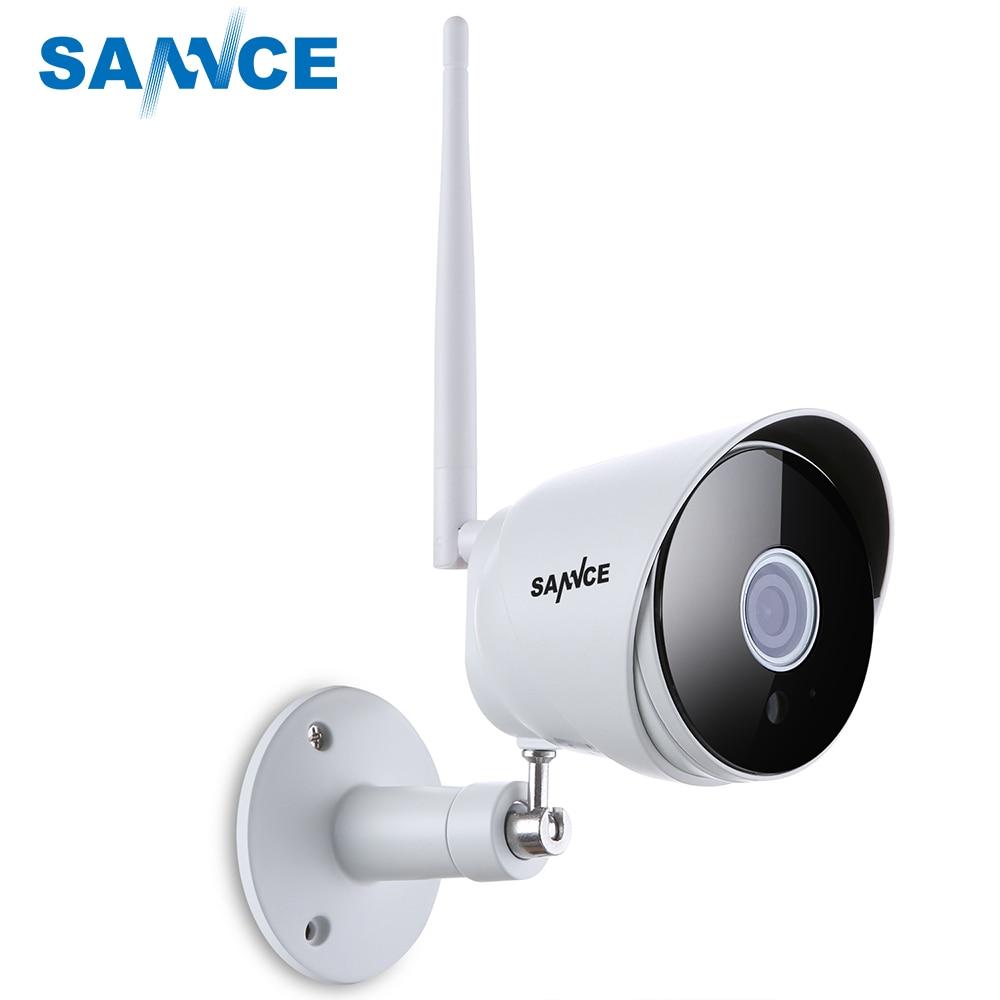 SANNCE 1080P IP Camera Wi-fi Bullet CCTV Camera 2.0MP IP66 Outdoor home WIFI Security Camera