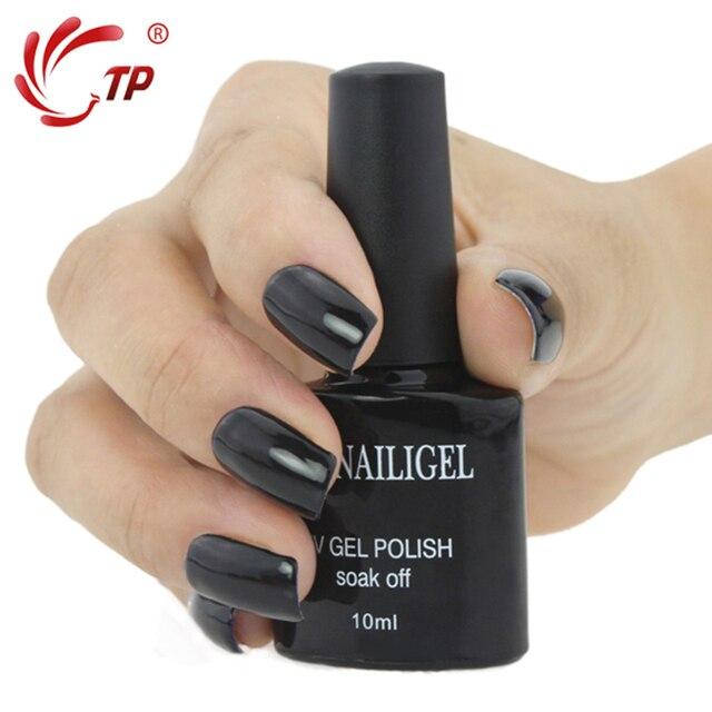 Dannail Gel 49 L Black 10ml Long Lasting Soak Off Uv Nail Polish