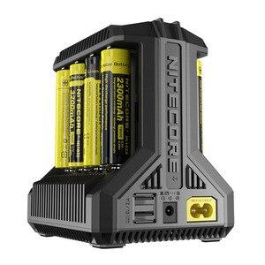 Image 3 - Nitecore i8 شاحن ذكي 8 فتحات 4A الناتج شاحن بطاريات ذكي ل IMR18650 16340 10440 AA AAA 14500 26650 و USB H15