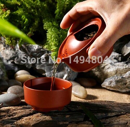 Yixing Teapot Chinese Teapot Drinkware Quik Cup Easy Bubble Purple Clay Travel Tea pot Cup Bowl Office Tea Set kettle