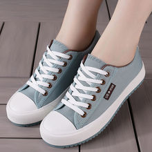 Women's shoes spring new canvas shoes Harajuku shoes female students Korean version of the wild flat shoes street beat white shoes female 2018 new spring wild korean students harajuku style ulzzang hemp leaf canvas shoes