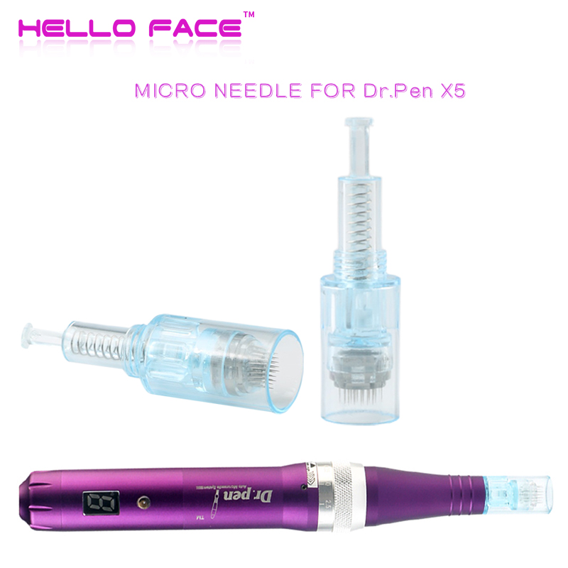 Dr. Pen Meso Micro Needle Derma Pen X5 10 PCS Needles Bayonet 9 12 36 42 Pin Nano Cartridge Tattoo Needles