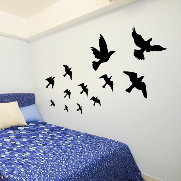 large size 60 * 90 diy wall stickers creative stereoscopic 3d