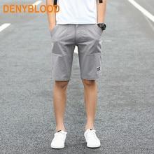 Плюс Размеры M-3XL Лето 2017 г. стирать мужские хлопчатобумажные повседневные брюки Чинос шорты мужчин нескольких цветов Бермуды пляжные брюки-карго капри шорты 669