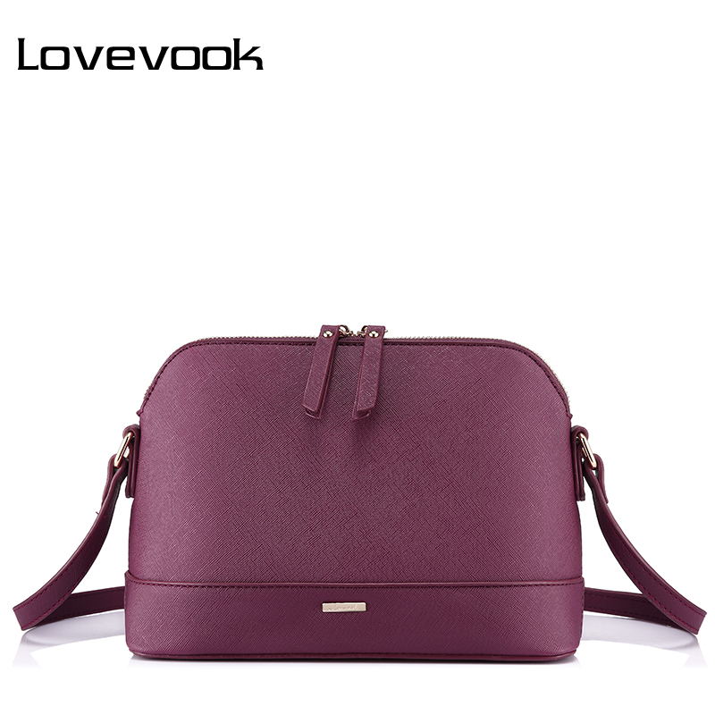 LOVEVOOK messenger bags for women shoulder crossbody bag female handbags high quality PU ladies bags 2018 small Shell envelop lovevook shoulder messenger bags for women crossbody bag pu female small handbag and purse with tassel fashion zippers designer