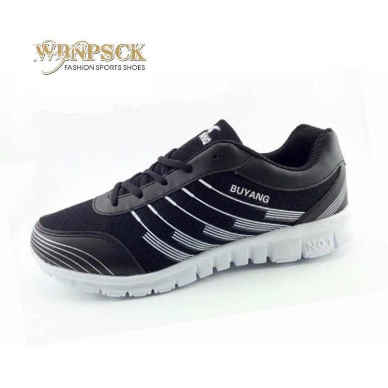 WBNPSCK Men's shoes in the summer of 2018 new men's brand casual shoes, breathable and comfortable men's mesh shoes size 39-46