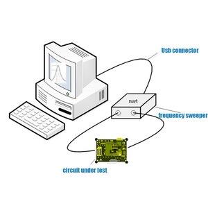 Image 3 - NWT200 50KHz ~ 200MHz zamiatarka analizator sieci filtr amplituda charakterystyka częstotliwości źródło sygnału DDS Nwt 200 AD9951
