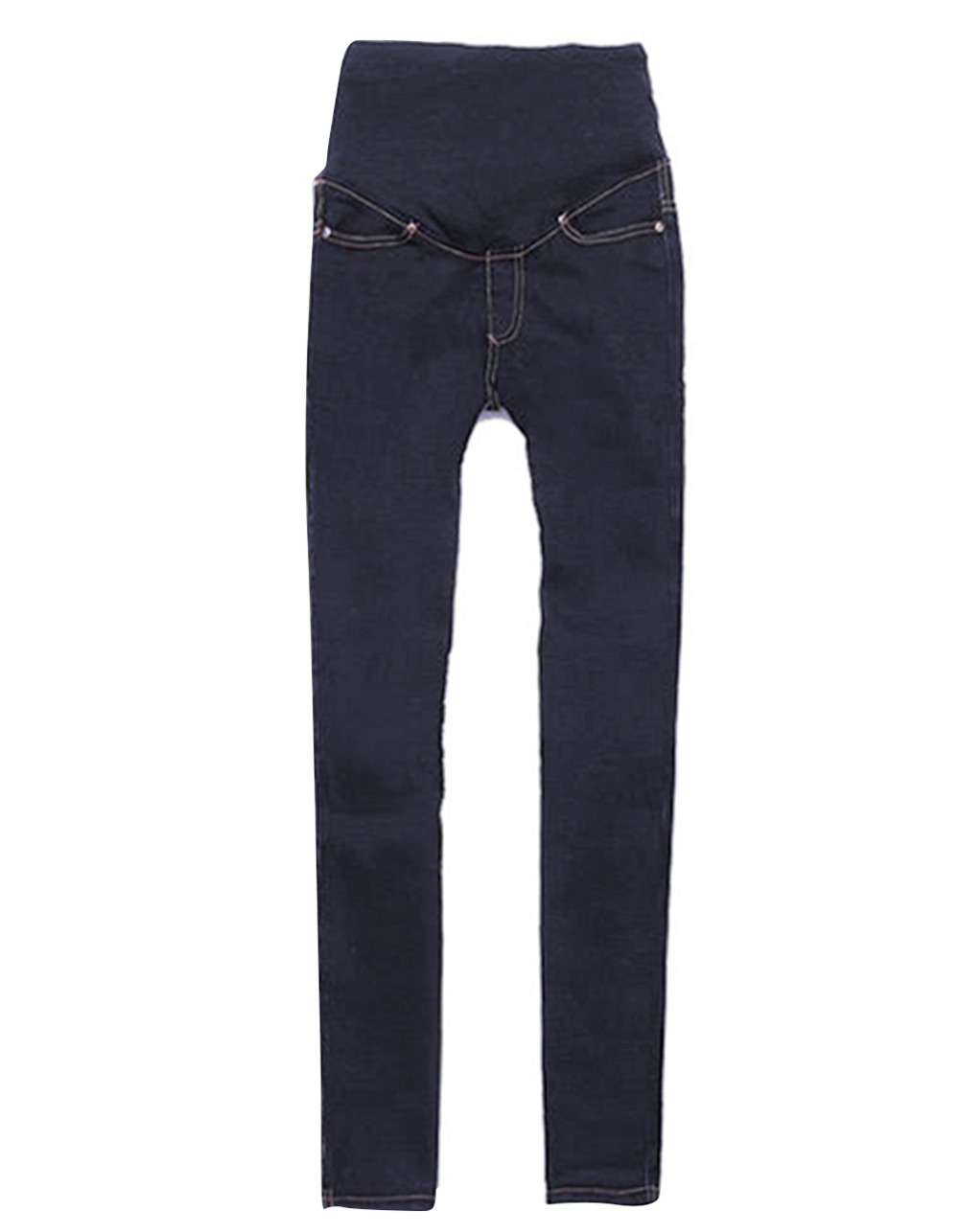 Lady Women Slim Long Pencil Pants Skinny Jean Pants Casual