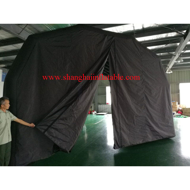 Customized inflatable event tent /black oxford inflatable tent for sale - 2