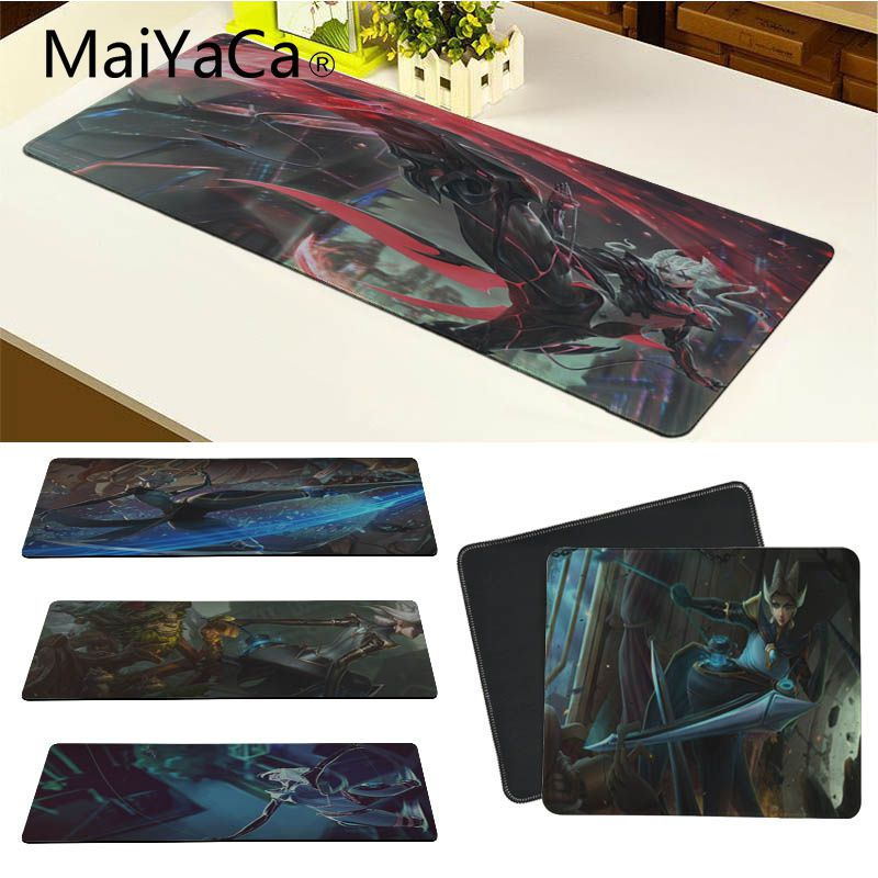 MaiYaCa LOL Camille Laptop Gaming Mice Mousepad Size for 30x90cm and 40x90cm Gaming Mousepads