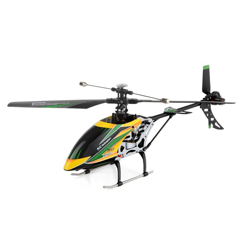 V912 Drone Sky Dancer Aircraft 2.4Ghz Rtf Aeroplane 4 Channel Single Blade Rc Helicopter with head light lamp Light image