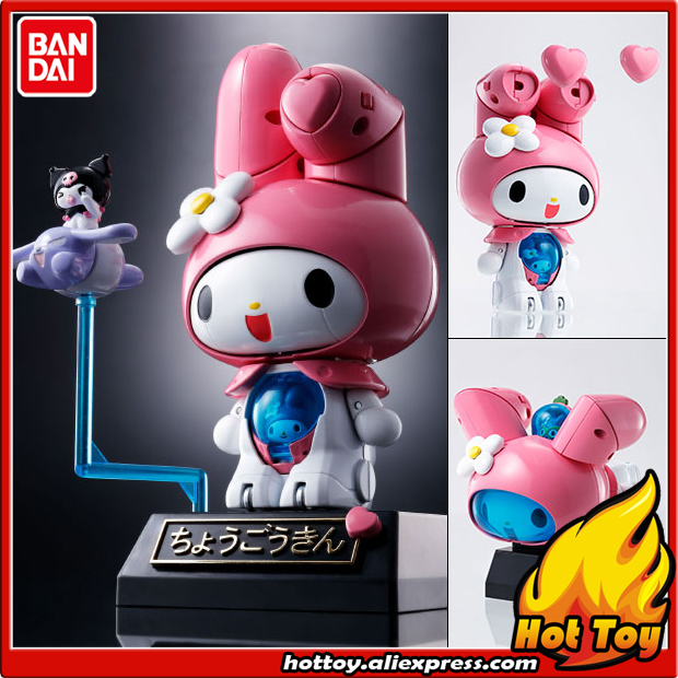 100% Original BANDAI Tamashii Nations Chogokin Action Figure - Onegai My Melody