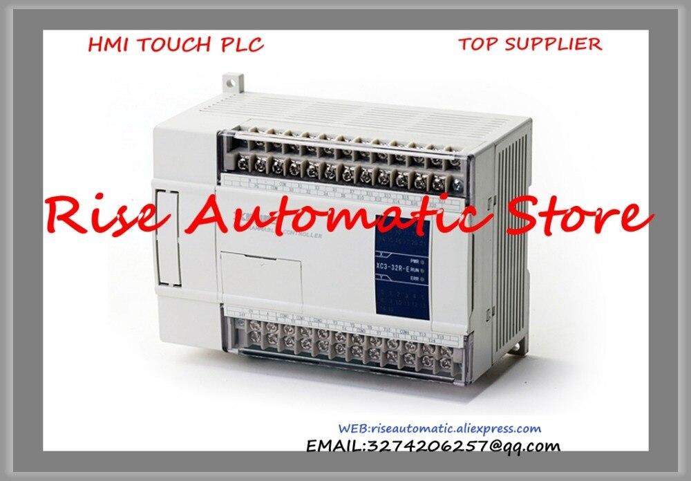 все цены на  New Original Programmable Controller Module XC3-24RT-C PLC CPU DC24V 14 DI NPN 10 DO Relay Transistors  онлайн