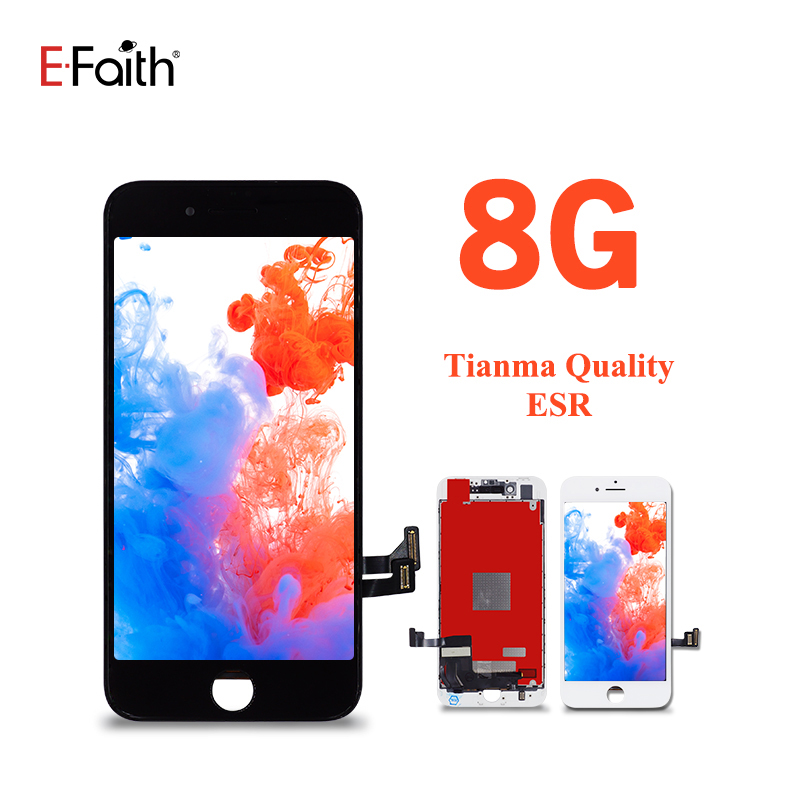 10Pcs EFaith ESR No Dead Pixel 100% Guarantee Tianma Quality For iPhone 8 8G LCD With 3D Touch Screen Replacement(China)