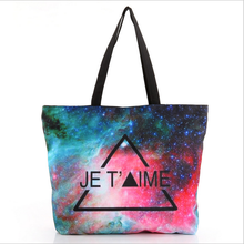 2015 New Fashion Women Handbags Hit Color Shoulder Bag Large Capacity Casual Tote Black Red